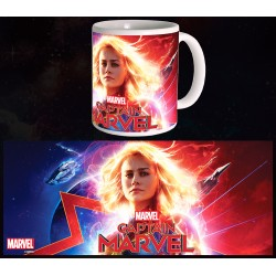 Mug Captain Marvel - Glowing