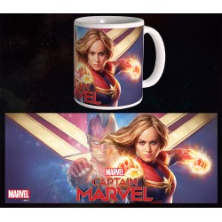 Mug Captain Marvel - Hero