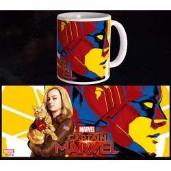 Mug Captain Marvel - Carol & Goose