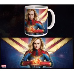Mug Captain Marvel - Fight