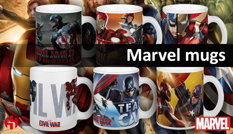 mugs marvel