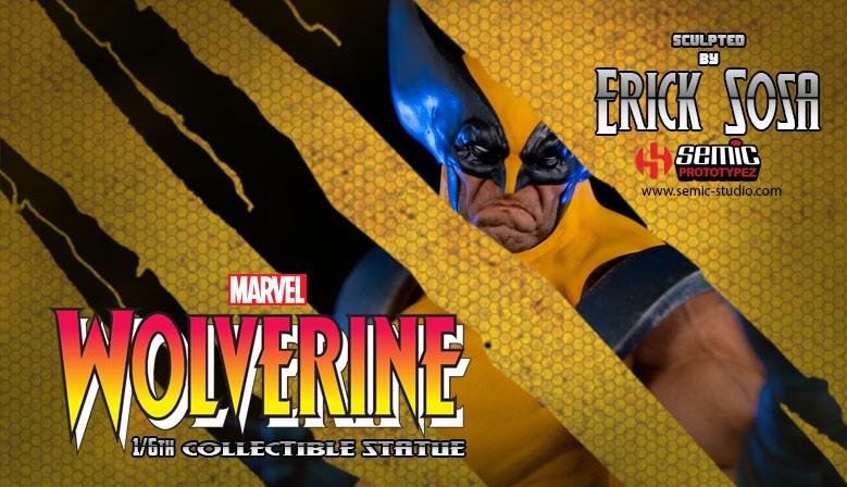 Wolverine 1:6 Marvel Statue